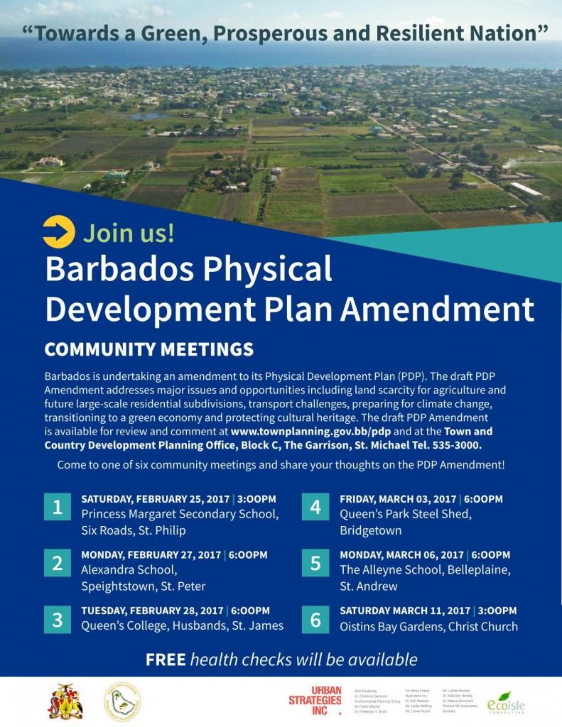 Barbados Physical Development Plan Amendment 2017